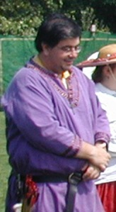 Duncan at Carolingian Archery Championship, July 2004