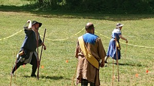 Competition at Kings and Queens Thrown Weapons Champions