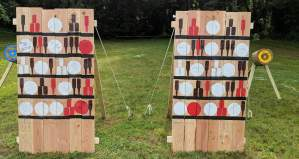 Thrown Weapons Tourney targets