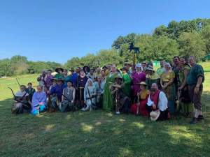 Pennsic 48 East and Allies Team with Queen Fortune